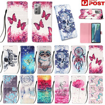 For Samsung Note20 Ultra A11 A21S A51 A71 Leather Wallet Case Pattern Flip Cover - $61.20