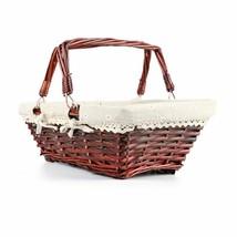 Cesta tejida con forro interno para colocar hevos de pascua y picnic - $487,81 MXN+