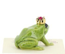Birthstone Frog Prince January Simulated Garnet Miniatures by Hagen-Renaker image 4