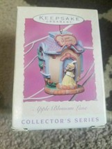 1997 Hallmark Apple Blossom Lane Spring/Easter Ornament 3rd in Series NI... - $4.89