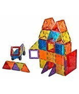 Magnet Tiles Mag-Genius Magna Award Winning Building Magnetic toy 108/pc... - $39.59