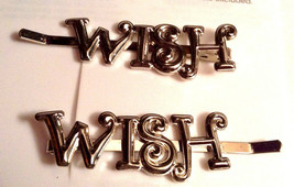 Gymboree Girls Fairy Wishes Collection Nwt Accessories Clip Barrette Silver Look - $7.95