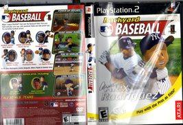 PlayStation 2 - BackYard Baseball - Replacement Case and Artwork - $10.00