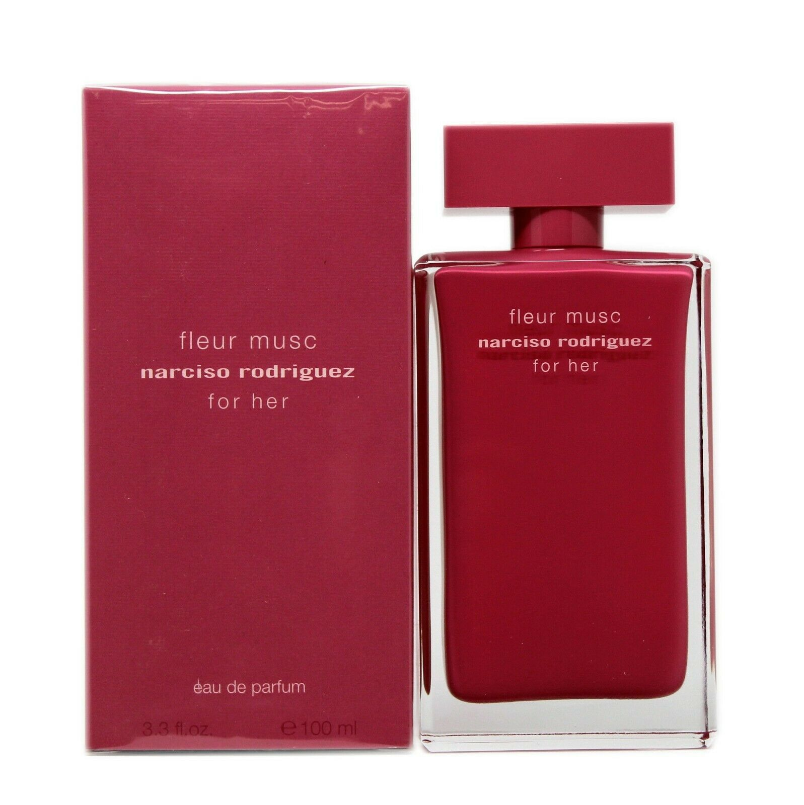 Primary image for NARCISO RODRIGUEZ FLEUR MUSC FOR HER EAU DE PARFUM SPRAY 100 ML/3.3 FL.OZ. NIB