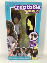 Creatable World Character Starter Pack CS-826 Doll & Hair Wig New Factor... - $14.01