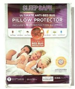 Sleep Safe King Pillow Protector in White 2 pack  - $19.77
