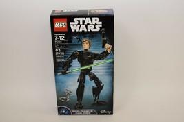 LEGO 75110 Luke Skywalker Buildable Figure Retired Sealed Star Wars FREE... - $29.69