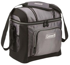 Cooler Box Drink Soft Hard Liner Camping Hiking Beach Lunch Gray Coleman... - $24.64