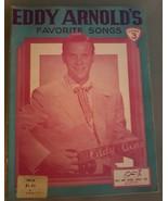 Eddy Arnold's Favorite Songs Number 3~ 1953 - $5.93