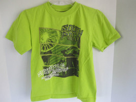 Boys Southpole Lime Green Graphic T-Shirt Size L - $6.79