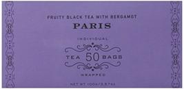 Harney & Sons Fruity Black Tea with Bergamot, Paris, 50 Tea Bags - $10.81