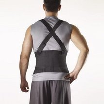 Corflex Industrial Back Support with Straps Large - $53.99