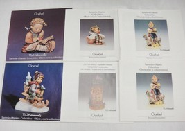 Goebel Hummel Collectors Club Brochure Lot of 5 Catalogs Bells Plates Fi... - $14.84