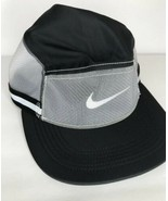 Nike Cyclist Hat Collection ISPA AW84 React Cap Black CD0990-010 RARE - $44.55