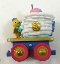 Hallmark Keepsake Ornament Colorful Coal Car Cottontail Express Easter Plus Box - $8.99