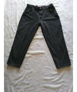 Signature Levi Strauss Men's 545 Loose Fit Black Jeans Size 40 x 30  - $39.59
