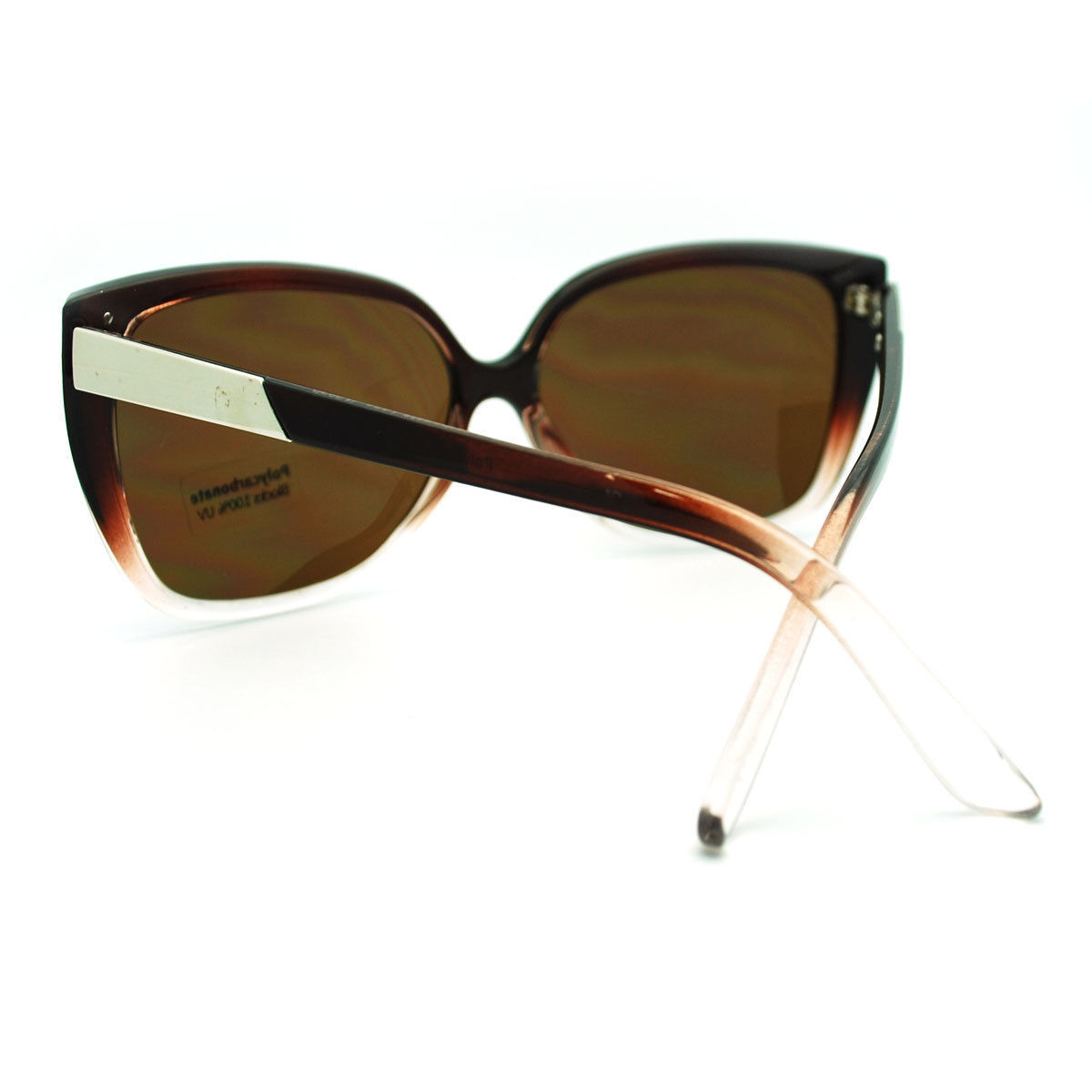 Oversized Butterfly Frame Sunglasses Womens Chic Celebrity Fashion Shades