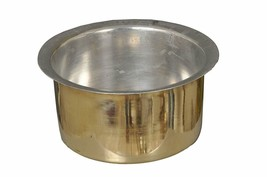 Brass Tope Kalai Utensil , Topia , Patila  Kitchen Tool 1.5 L Cookware U... - $66.49