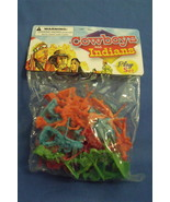 Toys New Kole Imports Cowboys and Indians Play Set 25 pieces - $4.95