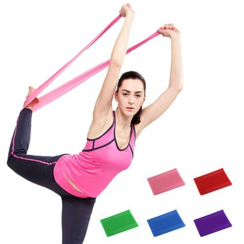 Resistance Toning Belt, Stretch Exerciser, Latex Material, 01 Pc