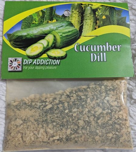 Dip Addiction For Your Dipping Pleasure Cucumber Dill Dip Mix