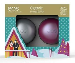 EOS THE EVOLUTION OF SMOOTH Duo de Baumes à Lèvres Édition Limitée  - $16.39