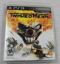 Playstation 3 PS3 game TWISTED METAL complete TESTED - $10.84