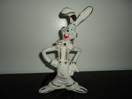 Vintage Porcelain ROGER RABBIT Figurine by Lady Angela Toronto Signed Da... - $93.50