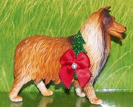 Custom Rough Collie Shetland Sheep Dog Holiday Christmas Ornament Best F... - $18.00