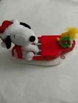 Hallmark Swingin Snoopy Woodstock Christmas Musical Piano 2009 TESTED WO... - $35.00