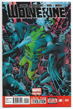Wolverine #5 Vol 5 2014 Marvel Comics (NM) - $2.50