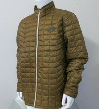 The North Face Thermoball Men's Full Zip Jacket Dijon Brown Sz X Large - $109.97