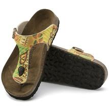 Birkenstock Papillio Gizeh Birko-Flor Sandals African Wax Gold ( 43 ) - $76.00