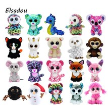 Ty Beanie Boos Cute Owl Monkey Unicorn Plush Toy Doll 10pcs/lot Stuffed ... - $69.10