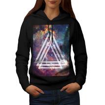 Space Triangle Sweatshirt Hoody Shapes Women Hoodie - $21.99+