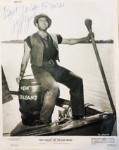 2 PHOTOS ENCLOSED:DAVY CROCKETT AND THE RIVER PIRATES AUTOGRAPHED BY JEF... - $825.00