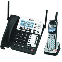 SynJ® 4 Line Expandable Business Phone System Includes AC Power Supply - $599.99