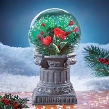 Cardinals on Pedestal Solar Decoration Outdoor Decoration Holiday Decor ... - $31.67