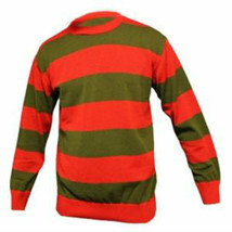 Freddie Krueger DELUXE Knitted Red / Green Jumper - $21.90