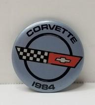1984 CORVETTE Pinback Button  - $11.83
