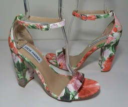 Steve Madden Size 8 M CARSSON Floral Heeled Sandals New Women's Shoes - $98.01