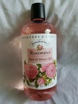 CRABTREE & EVELYN Rosewater Bath Shower Gel Body Wash Jumbo Full Size 16... - $23.95