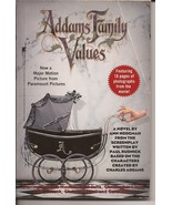Addams Family Values Novel Paramount Pictures Motion Picture - $2.95