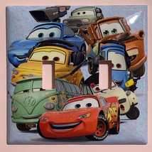 Cars characters McQueen Light Switch Power Outlet wall Cover Plate Home Decor image 4