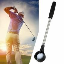 Retractable Scoop Golf Stick Ball Pick Up Steel Saver Shaft Tool Golf Tr... - $41.44