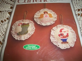 Current Counted Cross-Stitch Ornaments Kit Code 7141-5 - $14.00