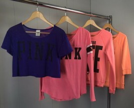 Lot Of 4 Shirts Size XS/S ~ American Eagle Outfitters; PINK - $26.60