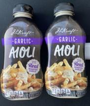 Kraft Garlic Aioli  *Lot of 2* - $17.57