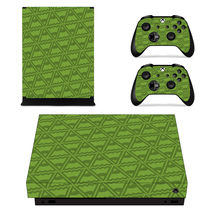 Traingle wallpaper Decal Xbox one X Skin for Xbox Console & 2 Controllers - $15.00