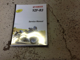 2015 2016 Yamaha YZF-R3 YZF R3 Repair Shop Workshop Service Shop Manual - $158.35